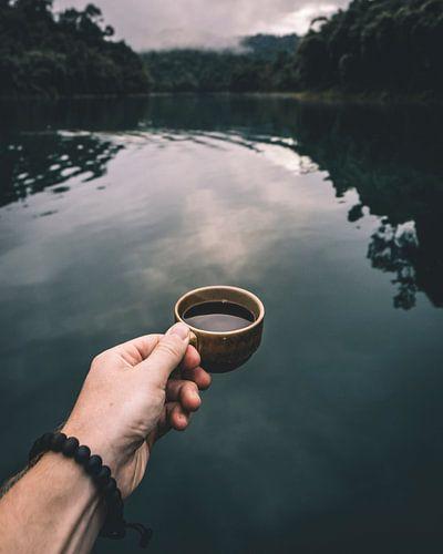 Coffee in Khao Sok von Gilles Bodson