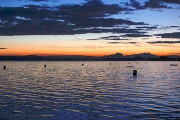 Bodensee am Abend von Thomas Jäger