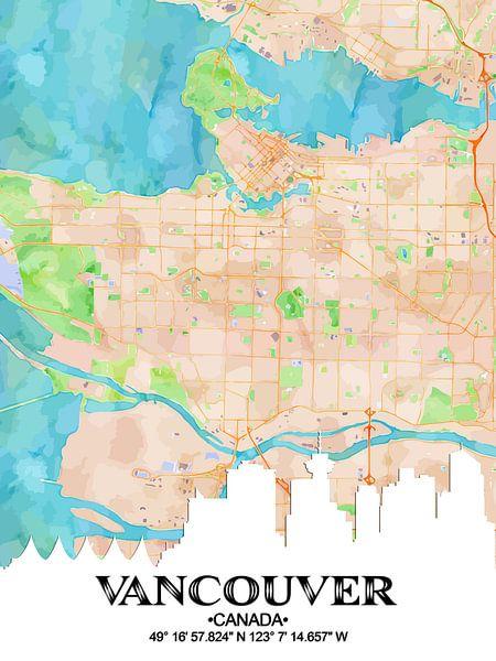 Vancouver van Printed Artings