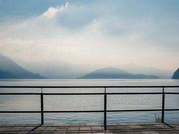 Lago d'Iseo van Fredy Jeanrenaud