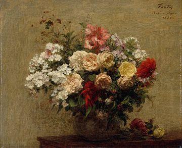 Sommerblumen, Henri Fantin-Latour von Meesterlijcke Meesters