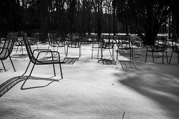 Stühle Das Gericht II von Rob Donders Beeldende kunst