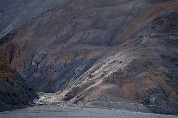 Berghelling in Himalaya in opkomende zon van Affect Fotografie