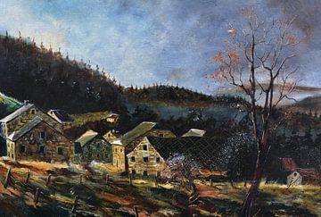 Alte Häuser in Ardenne von pol ledent