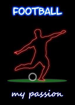 Fußball van Printed Artings