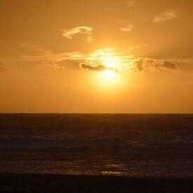 Oranje boven van Op Het Strand