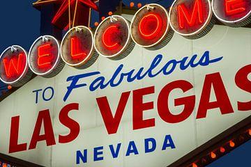 Las Vegas Welcome Sign von