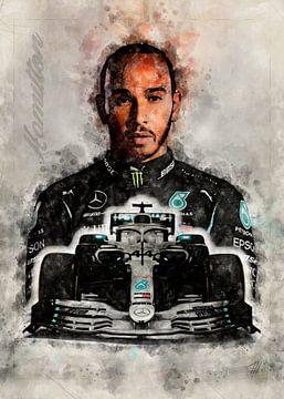 Lewis Hamilton von Theodor Decker