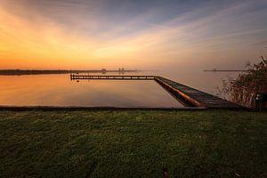 Serene Morning van Wil de Boer