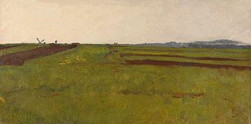 Landschap met velden, Willem Witsen