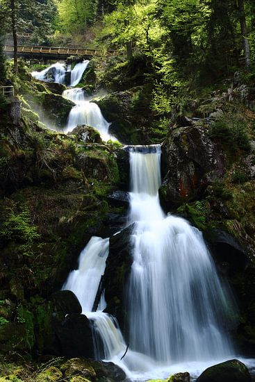 Triberg watervallen van Robbert Strengholt
