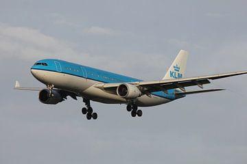airbus A330 KLM van Bas Berk