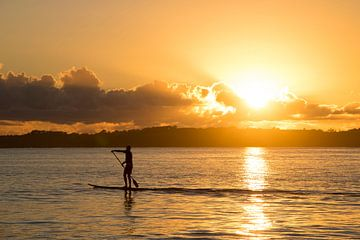 Peddelen bij zonsopkomst von Michaelangelo Pix