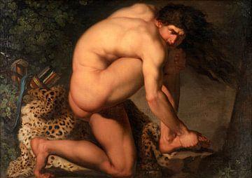 Der verwundete Philoktetes, Nicolai Abildgaard