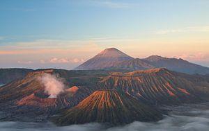 De Bromo vulkaan - Java, Indonesië van