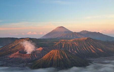 De Bromo vulkaan - Java, Indonesië