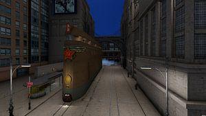 steampunk train 04 van H.m. Soetens