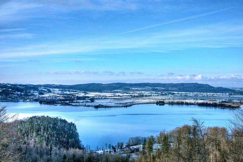 Panoramablick über den Walchensee von Roith Fotografie