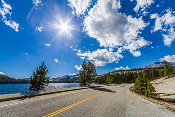 Tioga pass in Yosemite National Park van Easycopters
