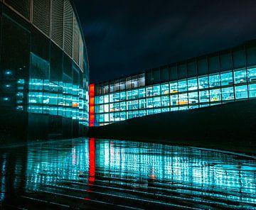 Réflexion dans la Cité de l'auto sur Marc-Sven Kirsch