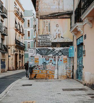 Straßenkunst Valencia von Iris van Tricht