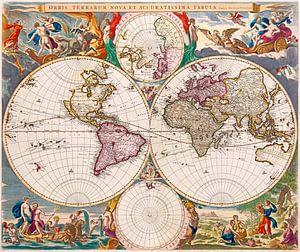 Neue Weltkarte, Nicolaes Visscher