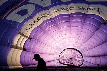 In een luchtballon van Wouter Bos