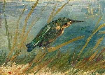 Vincent van Gogh, Eisvogel am Wasser