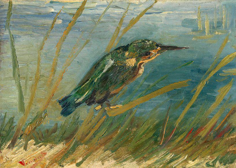Vincent van Gogh, IJsvogel aan de waterkant van 1000 Schilderijen