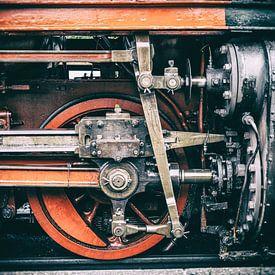 Detailaufnahme von der Harzer Schmalspurbahn von Dirk Bartschat