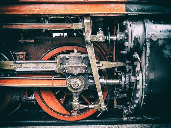 Detailaufnahme von der Harzer Schmalspurbahn