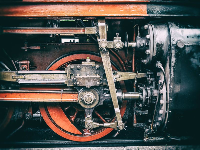 Detailaufnahme von der Harzer Schmalspurbahn van Dirk Bartschat