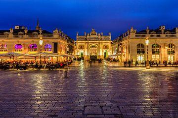 Het prachtige paleis in het centrum van de Franse stad Nancy van