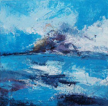 abstrakte landschap van Deniz Paulat