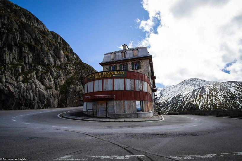 Gletscher Hotel/Restaurant Belvedère van Bart van der Heijden