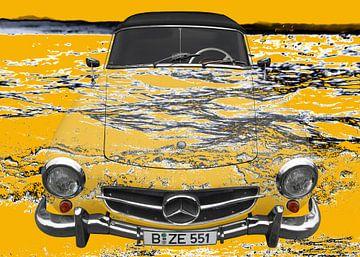 Mercedes-Benz 190 SL Kunstwagen Bodenmeer van aRi F. Huber