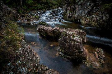 Schottland Wasser und Steine von Digitale Schilderijen