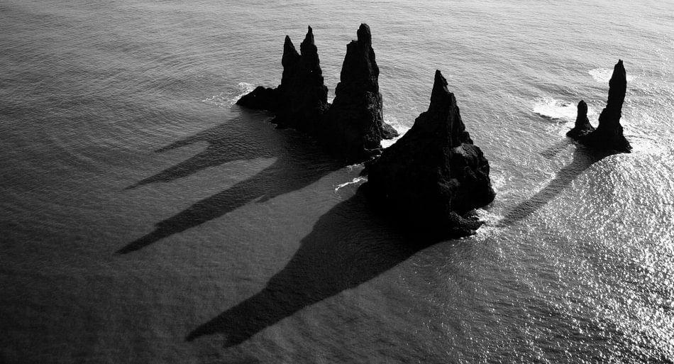 Reynisdrangar, IJsland van Roel Janssen