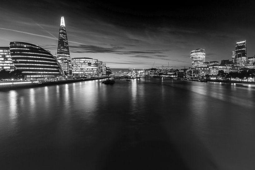 Londense skyline van Frank Herrmann