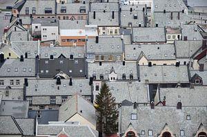Roofs of Ålesund