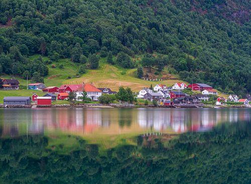 Sogndal in Noorwegen van
