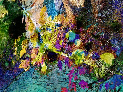Modern, Abstract kunstwerk - Love And Stardust van