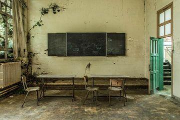 Green School von Anjolie Deguelle
