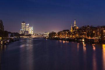 Amstel in de Nacht von Wesley Flaman