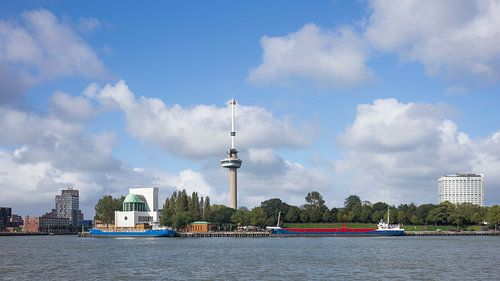 Skyline Rotterdam 2018 van