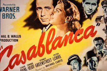 Casablanca Filmplakat von Brian Morgan
