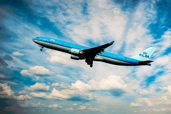 PH-AKE KLM Royal Dutch Airlines Airbus A330-300 van Gert Hilbink