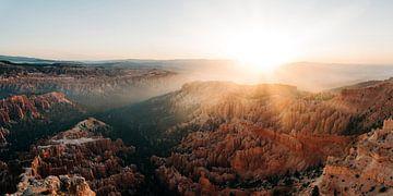 Lever de soleil à Bryce Canyon sur Arthur Janzen