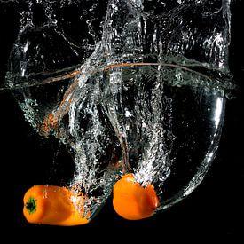 Oranje Paprika van Tom Smit