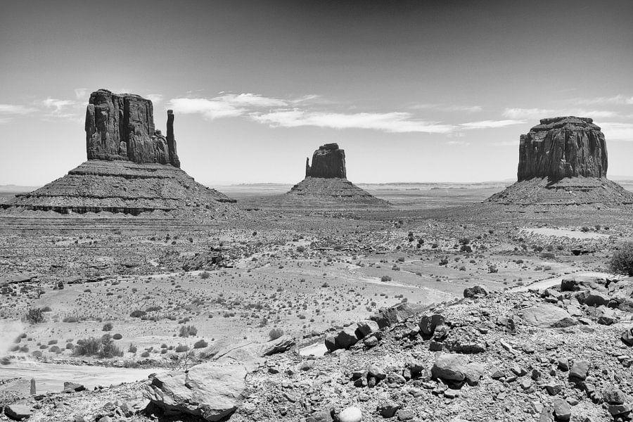 Monument Valley van Loek van de Loo